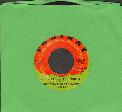 Creedence Clearwater Revival - Run Through The Jungle/Up Around The Bend - VG7/ - 45 rpm Records