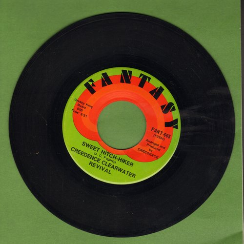 Creedence Clearwater Revival - Sweet Hitch-Hiker/Door To Door - EX8/ - 45 rpm Records