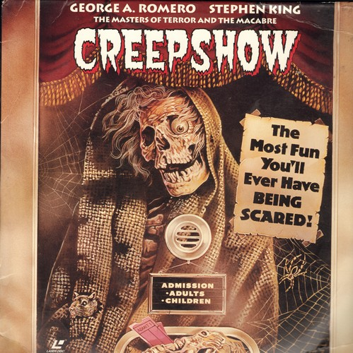 Creepshow - Creepshow - The Stephen King Horror Classic on set of  2 LASER DISCS (These are LASER DISCS, not any other kind of media!) - NM9/EX8 - Laser Discs