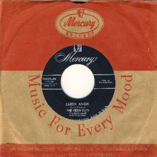 Crew-Cuts - Earth Angel/Ko Ko Mo (with vintage Mercury company sleeve) - EX8/ - 45 rpm Records