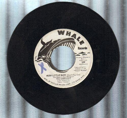 Crew-Cuts - Hush Little Baby (Don't You Cry)/Ti Pi Ti Tum (Elle Est Petite) - EX8/ - 45 rpm Records