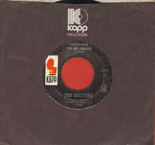 Critters - Forever Or No More/Bad Misunderstanding (with Kapp company sleeve) - VG7/ - 45 rpm Records