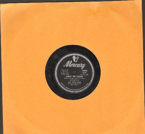 Crew-Cuts - Rebel In Town/Tell Me Why (RARE 10 inch 78rpm record) - VG7/ - 78 rpm