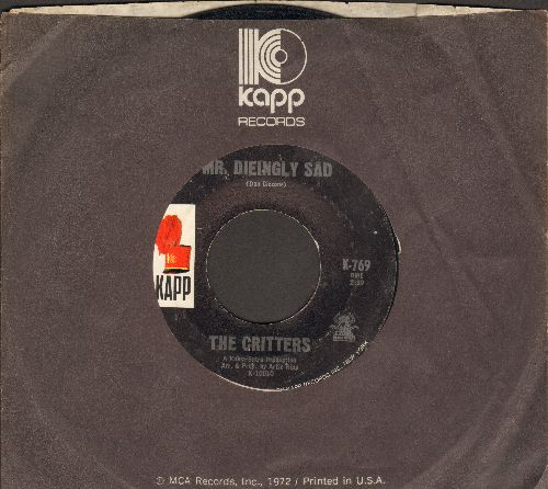 Critters - Mr. Dieingly Sad/It Just Won't Be That Way (with Kapp company sleeve) - EX8/ - 45 rpm Records