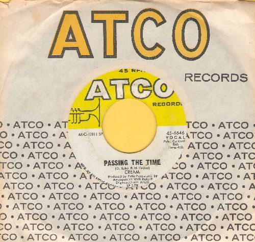 Cream - Passing The Time/Crossroads (with Atco company sleeve) - EX8/ - 45 rpm Records