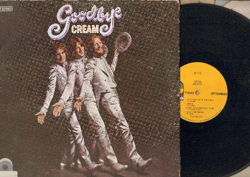 Cream - Goodbye: I'm So Glad, Politician, Badge, What A Bringdown (vinyl STEREO LP record, gate-fold cover) - EX8/VG6 - LP Records