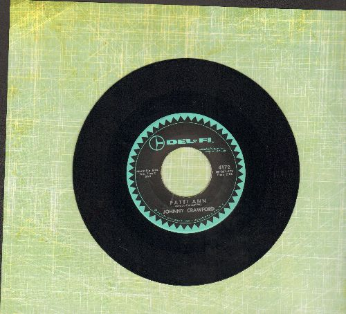Crawford, Johnny - Patti Ann (Will You Marry Me?)/Donna - EX8/ - 45 rpm Records