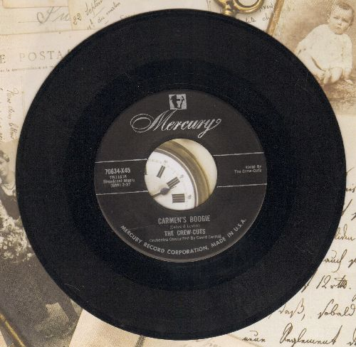 Crew-Cuts - Carmen's Boogie/A Story Untold  - VG7/ - 45 rpm Records