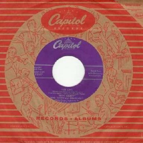Darin, Bobby - What'd I Say (Parts 1+2) (with Atco company sleeve) - EX8/ - 45 rpm Records