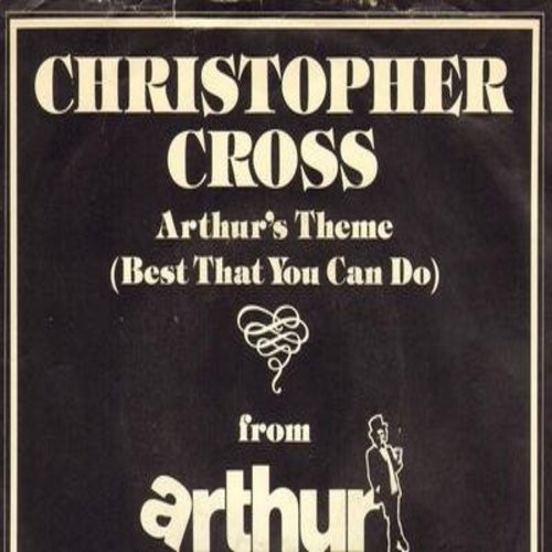 Cross, Christopher - Arthur's Theme (Best That You Can Do)/Misntrel Gigolo (with picture sleeve) - NM9/EX8 - 45 rpm Records