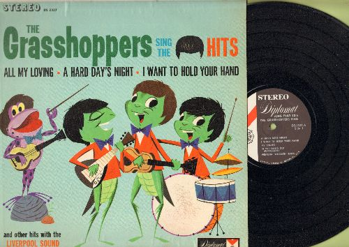 Grasshoppers - The Grasshoppers Sing The Beatles Hits: A Hard Day's Night, I Want To Hold Your Hand, Shortnin' Bread, My Bonnie (vinyl STEREO LP record) - NM9/NM9 - LP Records
