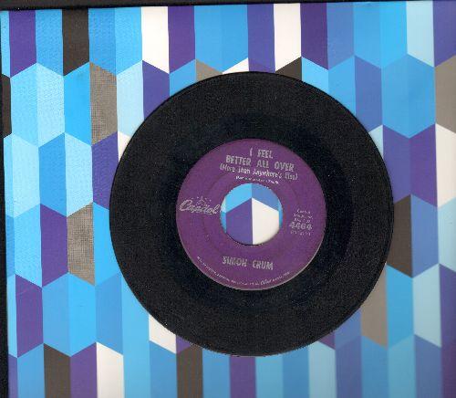 Crum, Simon - I Feel Better All Over (More Than Anywhere's Else)/Country Music Fiddler - VG7/ - 45 rpm Records