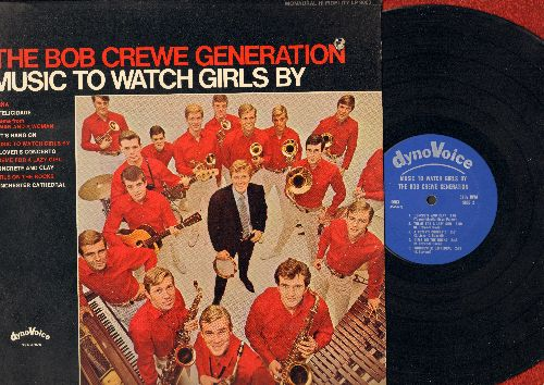Crewe, Bob Generation - Music To Watch Girls By: A Felicidade, Let's Hang On, Winchester Cathedral, Theme For A Lazy Girl, Theme From A Man And A Woman (vinyl LP record, RARE MONO Pressing!) (bb upper right corner cover) - M10/EX8 - LP Records