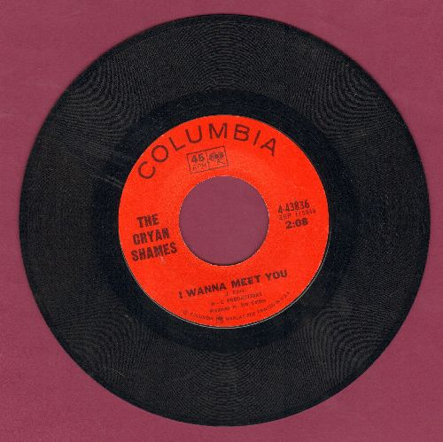 Cryan' Shames - I Wanna Meet You/We Could Be Happy - EX8/ - 45 rpm Records