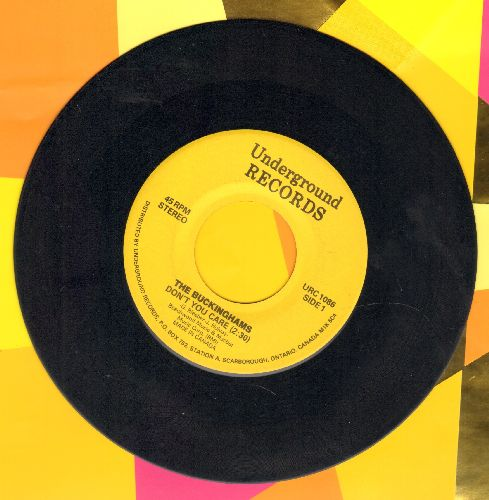 Buckinghams - Don't You Care/Mercy, Mercy, Mercy (double-hit re-issue) - VG7/ - 45 rpm Records
