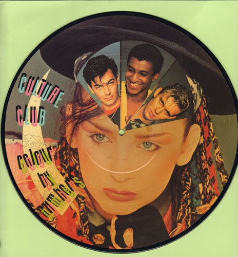 Culture Club - Colour By Numbers: Karma Chameleon, It's A Miracle, Church Of The Poison Mind, Miss Me Blind (vinyl STEREO LP record, RARE picture disc!) - NM9/ - LP Records