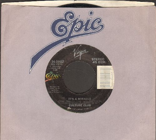Culture Club - It's A Miracle/Love Twist  - EX8/ - 45 rpm Records