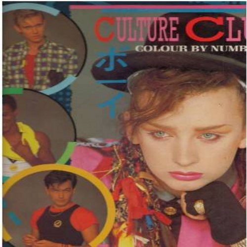 Culture Club - Colour By Numbers: Karma Chameleon, It's A Miracle, Church Of The Poison Mind, Miss Me Blind (vinyl STEREO LP record) - M10/EX8 - LP Records