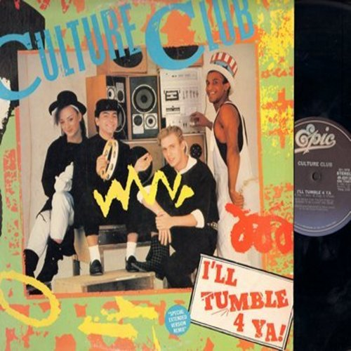 Culture Club - I'll Tumble 4 Ya! /Man Shake (12 inch 33rpm vinyl Maxi Single with picture cover) - NM9/EX8 - LP Records