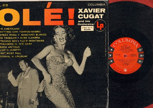 Cugat, Xavier - Ole!: The Americano, Anything Can Happen-Mambo, Africano Soy, Humpty Dumpty (vinyl MONO LP record, red lable, 6 eyes label) - NM9/EX8 - LP Records