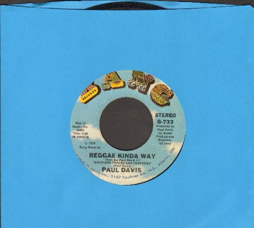 Davis, Paul - Reggae Kinda Way/I Go Crazy - NM9/ - 45 rpm Records