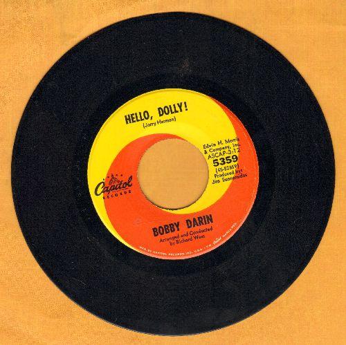 Darin, Bobby - Hello, Dolly!/Goodbye Charlie - NM9/ - 45 rpm Records