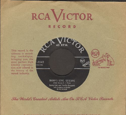 Gale, Sunny - Mama's Gone, Goodbye/The Note In The Bottle (NEAR MINT condition with vintage RCA company sleeve) - NM9/ - 45 rpm Records