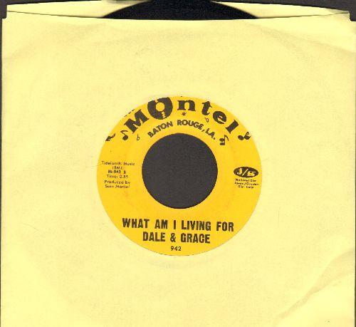 Dale & Grace - What Am I Living For/Something Special - NM9/ - 45 rpm Records