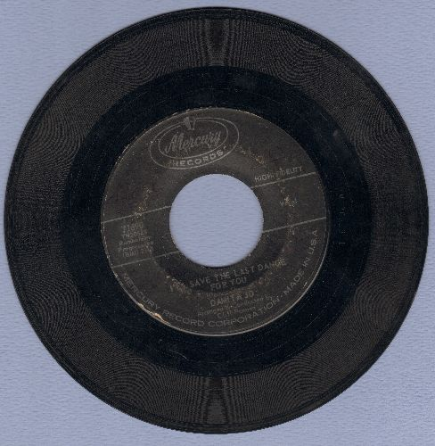 Damita Jo - I'll Save The Last Dance For You/Forgive  - VG6/ - 45 rpm Records