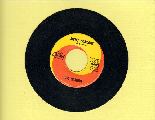Damone, Vic - Sweet Someone/Again - NM9/ - 45 rpm Records
