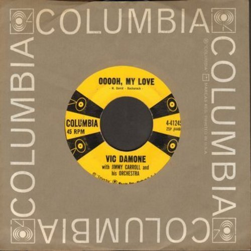 Damone, Vic - Ooooh, My Love/Forever New (with Columbia company sleeve) - NM9/ - 45 rpm Records