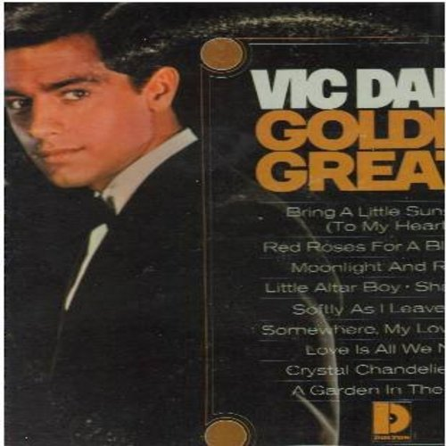 Dana, Vic - Golden Greats: Red Roses For A Blue Lady, Little Altar Boy, Softly As I Leave You, More, Love Is All We Need (vinyl MONO LP record, DJ advance copy) - NM9/VG7 - LP Records