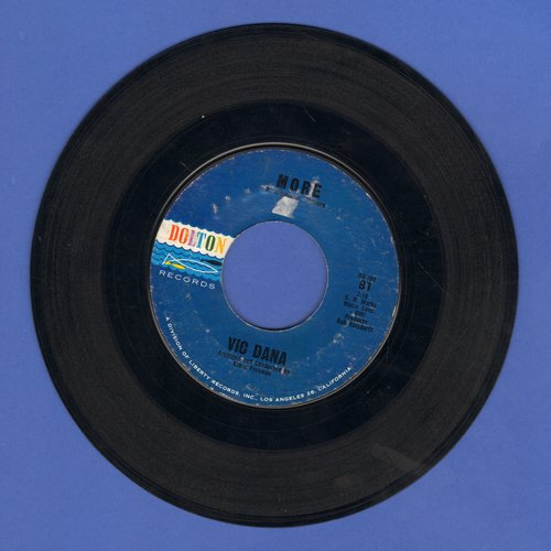 Dana, Vic - More/That's Why I'm Sorry - VG7/ - 45 rpm Records