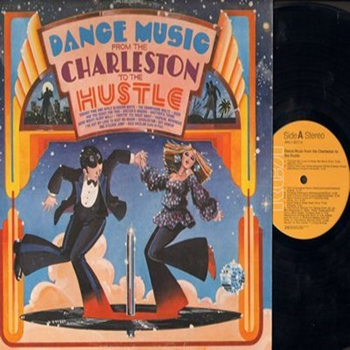 Dance Music - Dance Music From The Charleston To The Hustle - Original artists include Sam Cooke, Perez Prado, The Brothers, Arthur Murray TV Dance Orchestra, others (vinyl LP record) - NM9/NM9 - LP Records