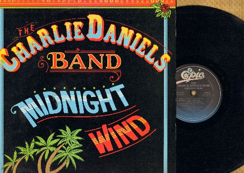 Daniels, Charlie Band - Midnight Wind: Sugar Hill Saturday Night, Grapes Of Wrath, Redneck Fiddlin' Man, Black Bayou (vinyl STEREO LP record) - NM9/NM9 - LP Records