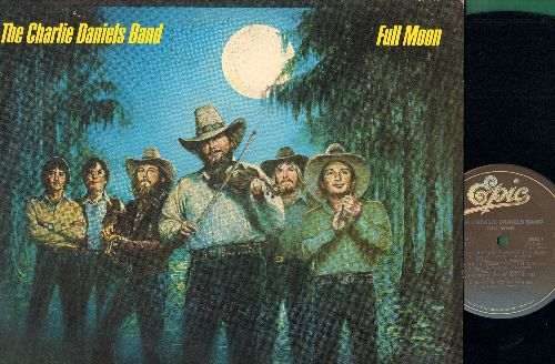 Daniels, Charlie Band - Full Moon: The Legend Of Wooley Swamp, Money, In America, Carolina (I Remember You), No Potion For The Pain (vinyl STEREO LP record) - EX8/VG7 - LP Records