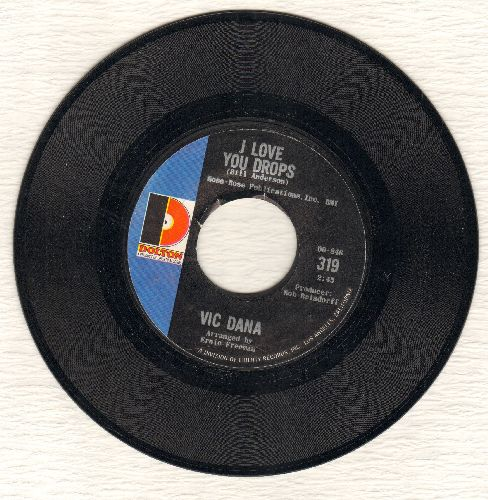 Dana, Vic - I Love You Drops/Sunny Skies - M10/ - 45 rpm Records