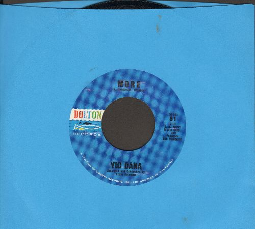 Dana, Vic - More/That's Why I'm Sorry - NM9/ - 45 rpm Records