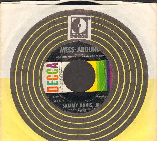 Davis, Sammy Jr. - Mess Around/I Got A Woman (with Decca company sleeve) - VG7/ - 45 rpm Records