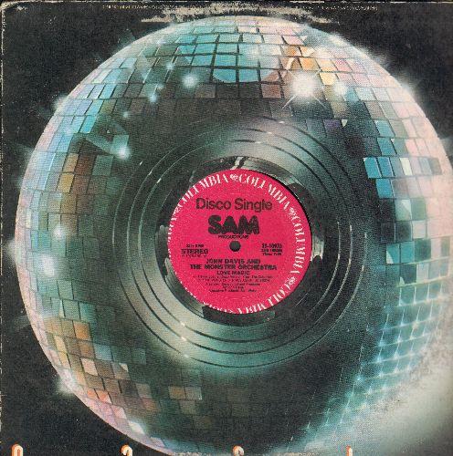 Davis, John & The Monster Orchestra - Love Magic/Holler (12 inch vinyl Maxi Single) - NM9/ - Maxi Singles