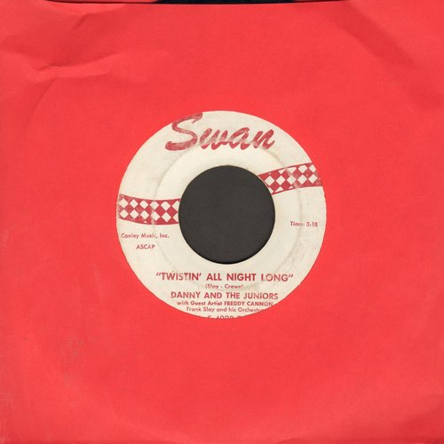 Danny & The Juniors - Twistin' All Night Long/Some King Of Nut - VG7/ - 45 rpm Records
