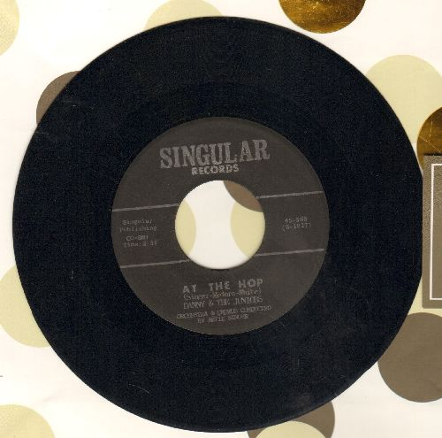 Danny & The Juniors - Sometimes (When I'm All Alone)/At The Hop (double-hit re-issue) - EX8/ - 45 rpm Records