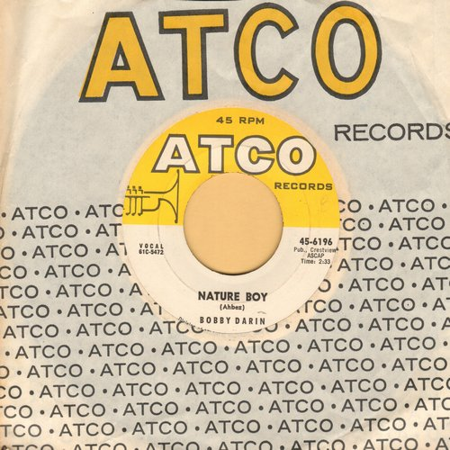 Darin, Bobby - Nature Boy/Look For True Love (MINT condition with Atco company sleeve) - M10/ - 45 rpm Records
