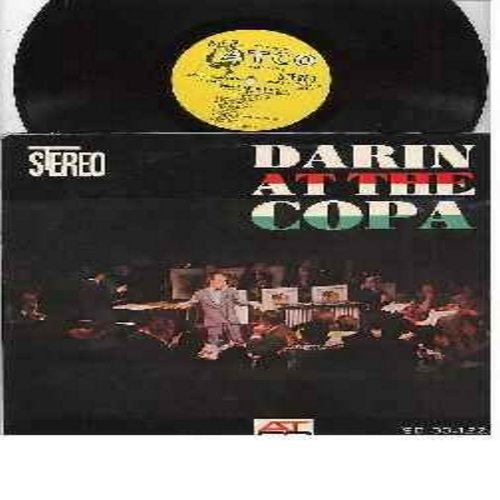 Darin, Bobby - At The Copa: Mack The Knife, Clementine, Dream Lover, That's All, Bill Bailey, Love For sale (vinyl STEREO LP record, yellow label, white harp early issue) - VG7/EX8 - LP Records
