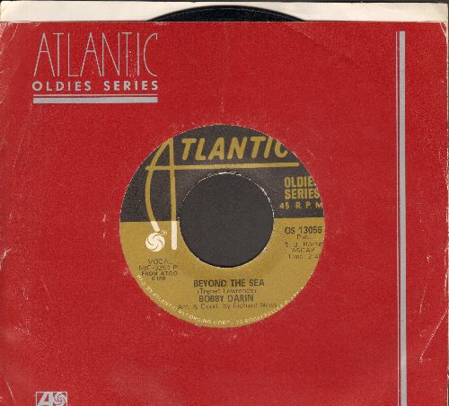 Darin, Bobby - Beyond The Sea/Mack The Knife (double-hit re-issue with Atlantic company sleeve) - EX8/ - 45 rpm Records