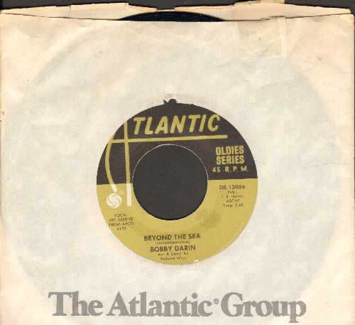 Darin, Bobby - Beyond The Sea/Mack The Knife (double-hit re-issue with Atlantic company sleeve) - VG7/ - 45 rpm Records