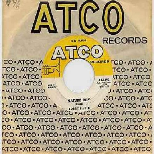 Darin, Bobby - Nature Boy/Look For True Love (with Atco company sleeve) - EX8/ - 45 rpm Records