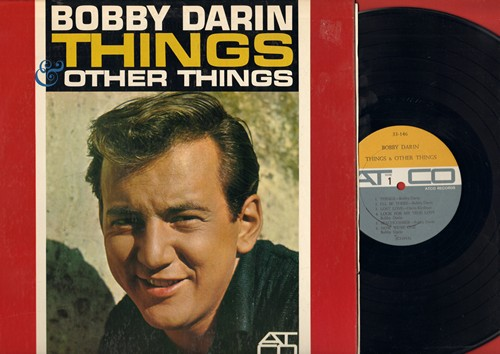Darin, Bobby - Things: I'll Be There, Beachcomber, Now We're One, Jailer Bring Me Water, Nature Boy, Sorrow Tomorrow (vinyl MONO LP record) - NM9/NM9 - LP Records
