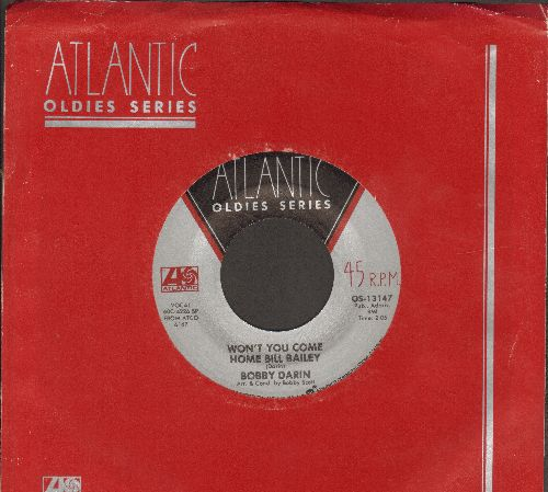 Darin, Bobby - Won't You Come Home Bill Bailey/Things (double-hit re-issue with Atlantic company sleeve) - M10/ - 45 rpm Records