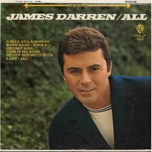 Darren, James - All: Georgy Girl, My Cup Runneth Over, Born Free, Since I Don't Have You, Sunny, This Is My Song (vinyl STEREO LP record, NICE condition!) - NM9/NM9 - LP Records